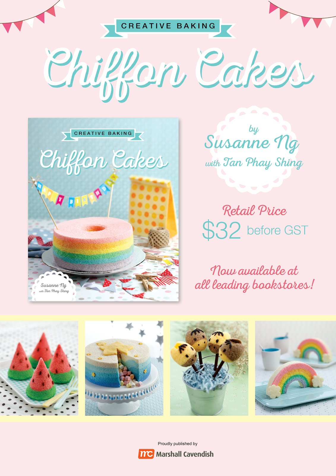 Creative Baking: Chiffon Cakes Book (bestseller)