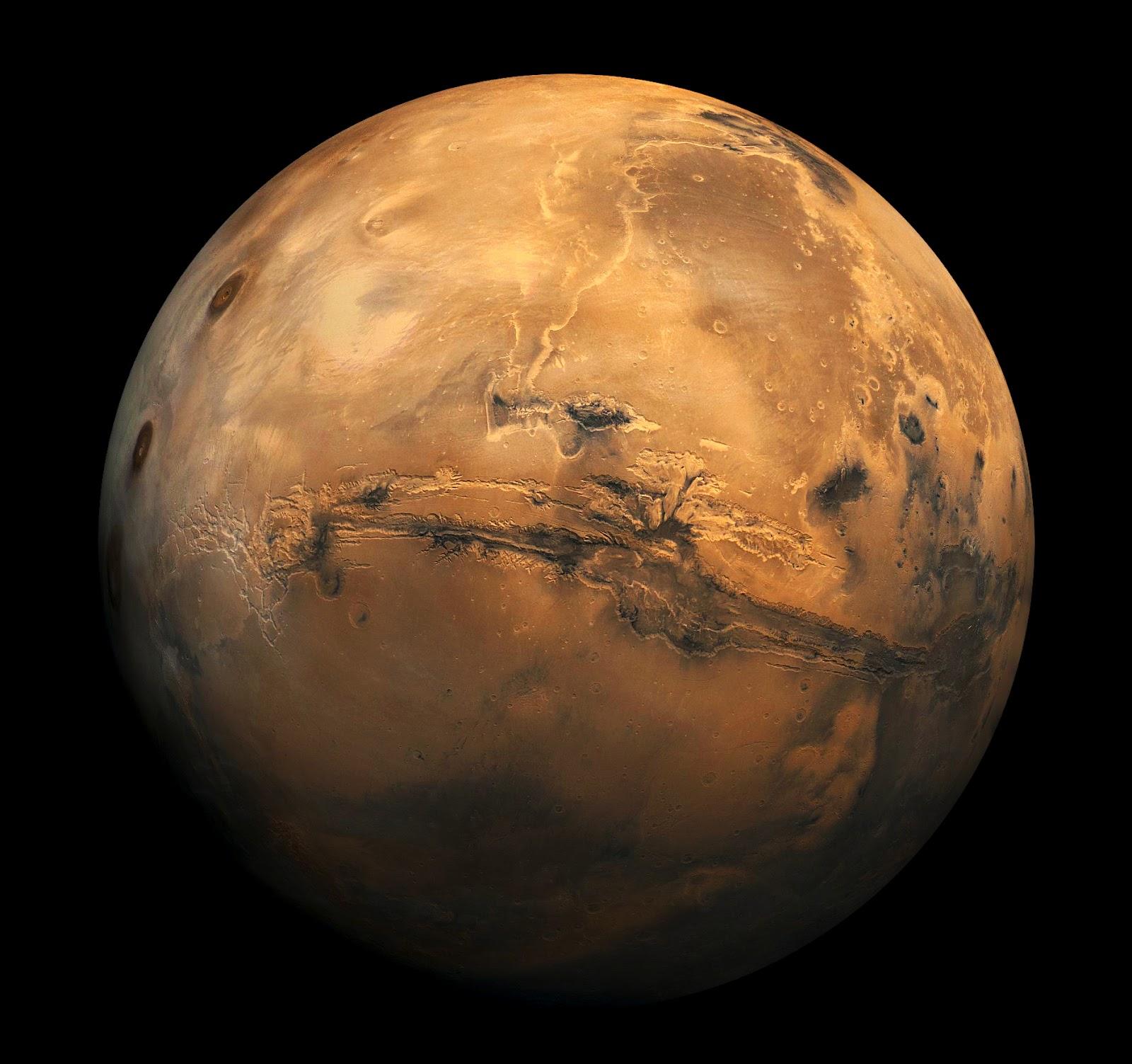 The Martian Planet: Mars