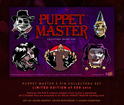 Puppet Master Enamel Pin Set by Cavity Colors