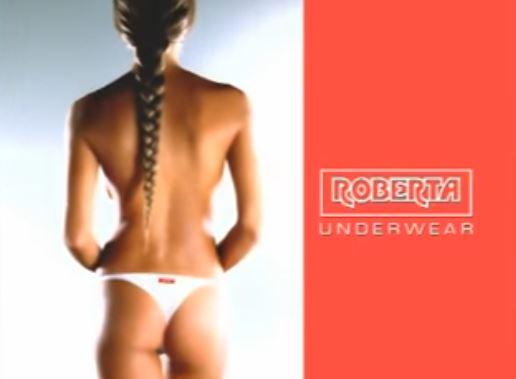 Michelle Hunziker pubblicità Roberta intimo Foto e video Spot
