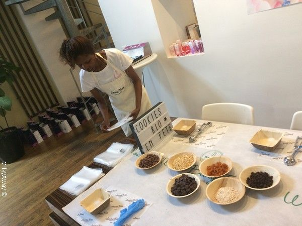 Atelier Cookies Bio en Fête