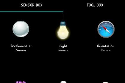 Sensor yang ada pada HP flagship
