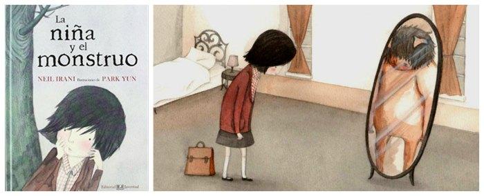 cuentos infantiles niña monstruo para hacer pensar, reflexionar, sentido ética moral niños