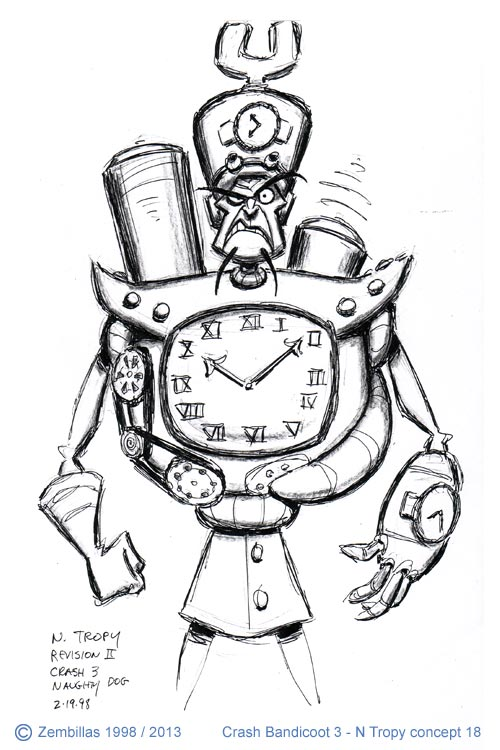 Charles Zembillas Crash Bandicoot Origin Of N Tropy Part 8
