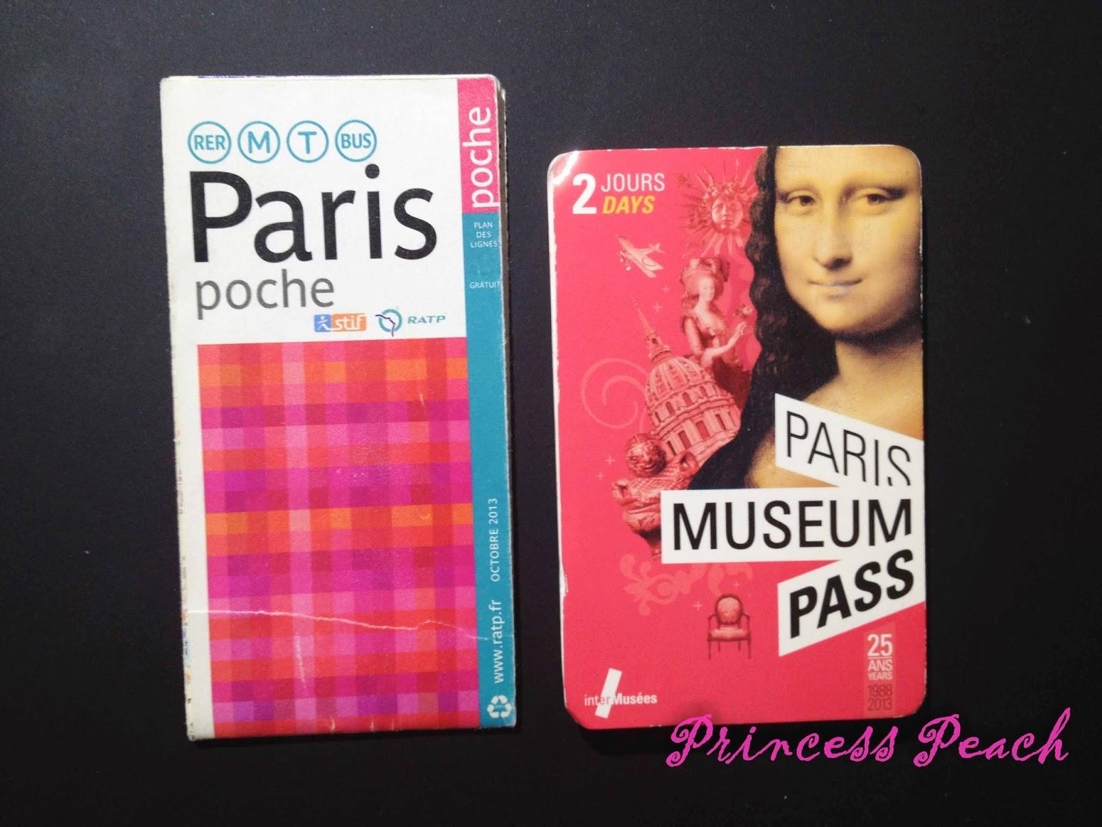巴黎地鐵票