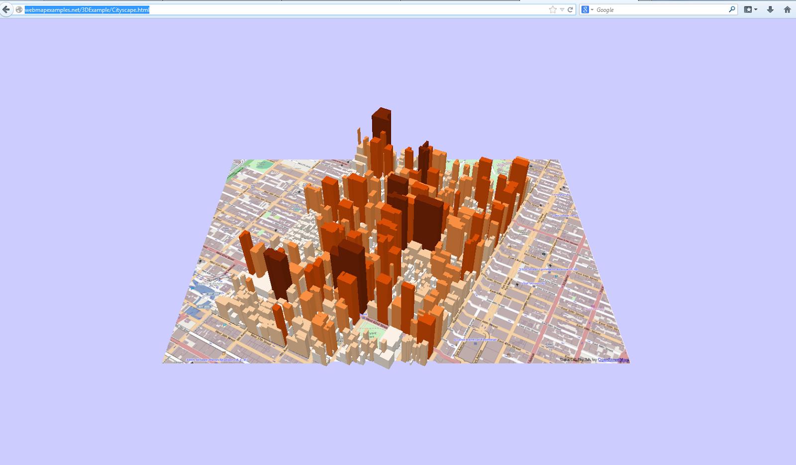 Open Source GIS Blog: 3D Visualization of Manhattan using QGIS Plugin