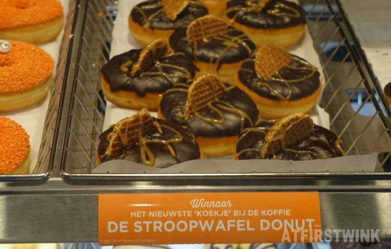 Dunkin' Donuts Netherlands Amsterdam special country limited De Stroopwafel donut