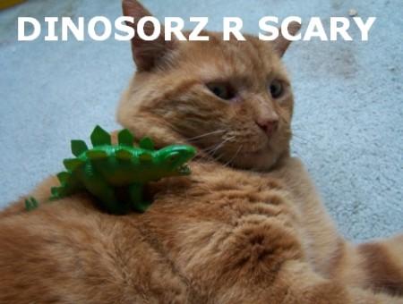 Dinosorz, funny cat meme