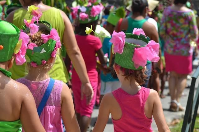 guyane, carnaval, kourou, miettes de vie, fête, musique, école, Emile Nezes