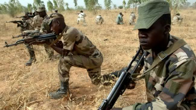 Nigerian Soldiers Rescue 1,623 Persons Held Captives By Boko Haram