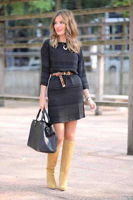 chica vestido elegante
