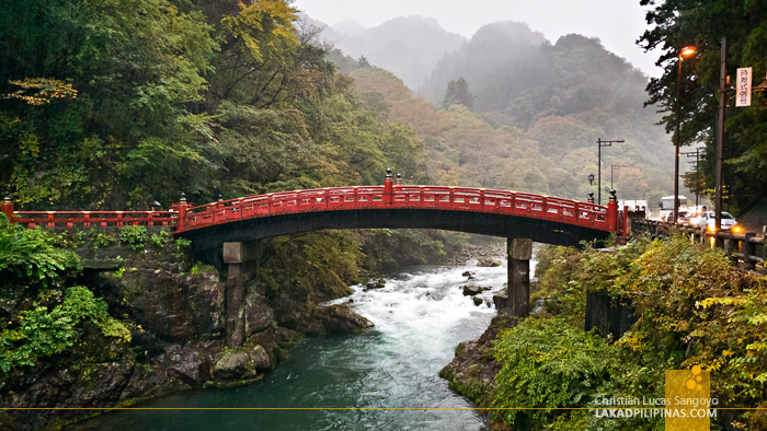 Nikko Temple Run Shinkyo Sacred Bridge