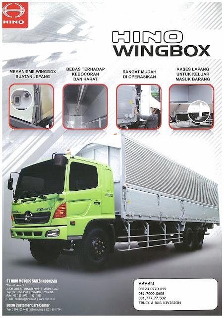 brosur hino ranger fl series wingbox