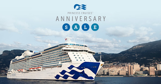Princess Cruises & Alaska Cruises Direct Alaskan Anniversary Sale Offers Up to $600 On board Spending Money on Cruise & Cruisetour Vacations to All Alaska Destinations Sailing from Summer 2018.