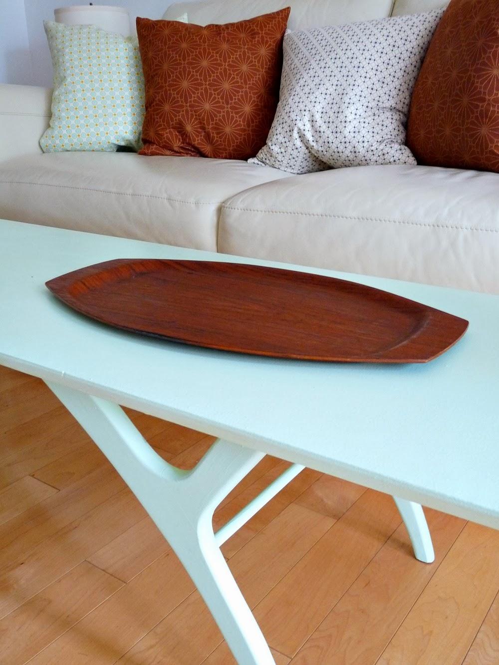 Danish teak tray