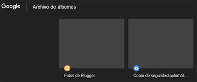 Archivo de Álbumes de Google