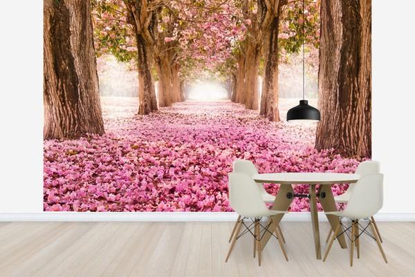 3D Tapetti Luonto romanttinen tapetti