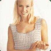 Jersey gris perla a Crochet