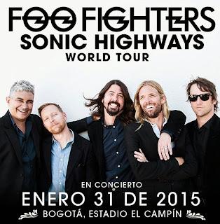 Foo Fighters en Bogotá