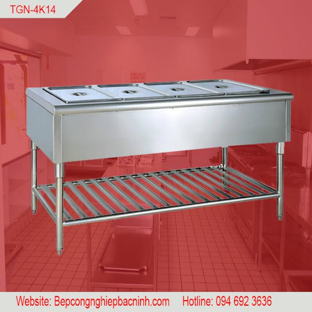 Bàn dưỡng nóng thức ăn 4 khay TGN-4K14