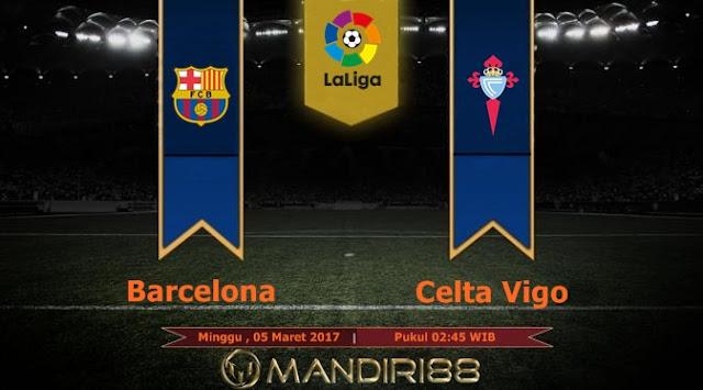 Prediksi Bola : Barcelona Vs Celta Vigo , Minggu 05 Maret 2017 Pkl 02.45 WIB