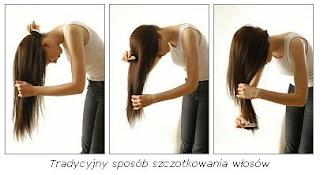 Znalezione obrazy dla zapytania szczotkowanie włosów