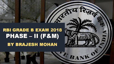 How to prepare Finance & Management Section for RBI Grade B Exam
