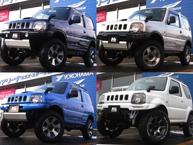 Custom Suzuki Jimnys from N's Stage