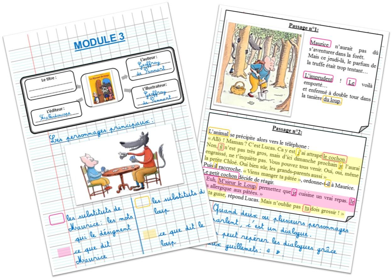 Les traces écrites des élèves: à quoi cela doit ressembler!