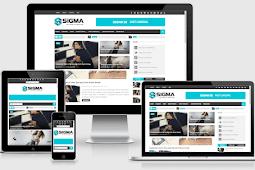 Sigma Responsive Blog Magazine Blogger Theme Free Download