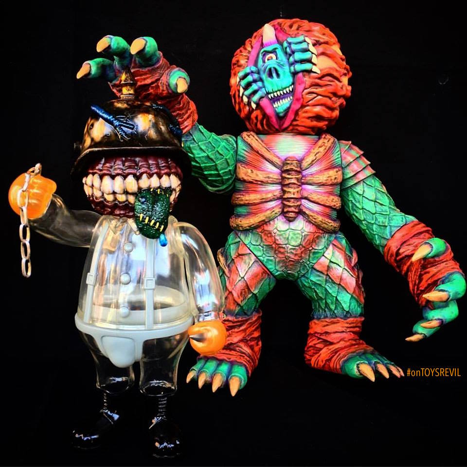 Lamour Supreme x Mishka: THE Beast Painted by Kenth Toy