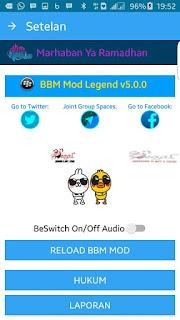 BBM MOD THE LEGEND V5.0.0 APK