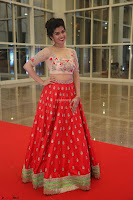 Mahima in beautiful Red Ghagra beigh transparent choli ~  Exclusive 006.JPG