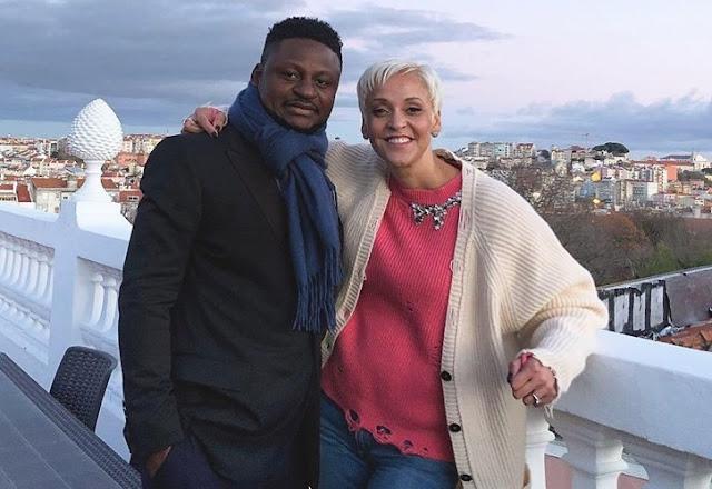 Matias Damásio namora cantora portuguesa com origens Moçambicanas