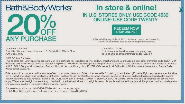 bath and body works coupons 2016