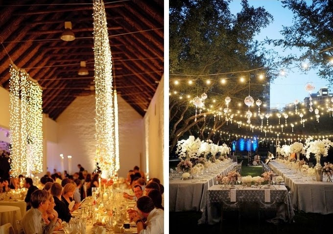 String Lights - Creative Lighting Ideas for Your Wedding Reception & 26 Creative Lighting Ideas for Your Wedding Reception