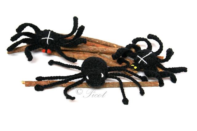 Szydełkowe pająki