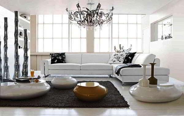 Gambar Kursi Sofa Ruang Tamu Mewah