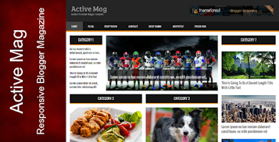 Active Mag Blogger Template