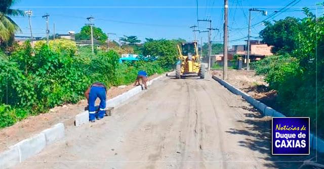 Duque de Caxias revitaliza bairro da Vila Urussaí
