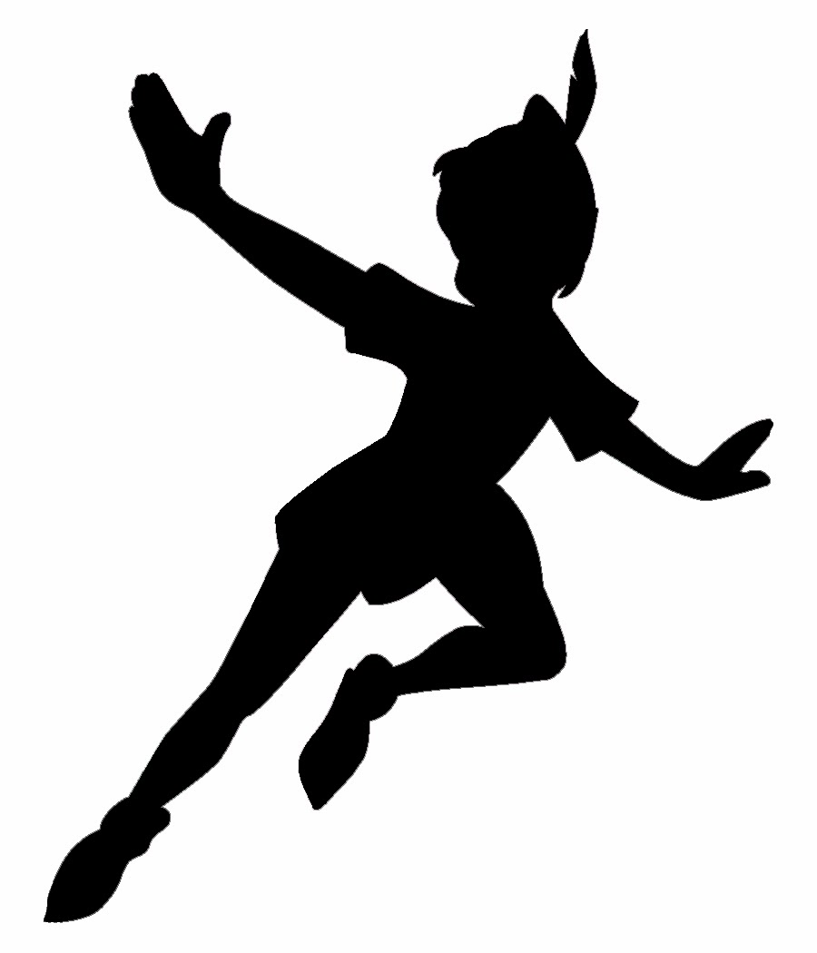 It's just a photo of Modest Disney Character Silhouettes