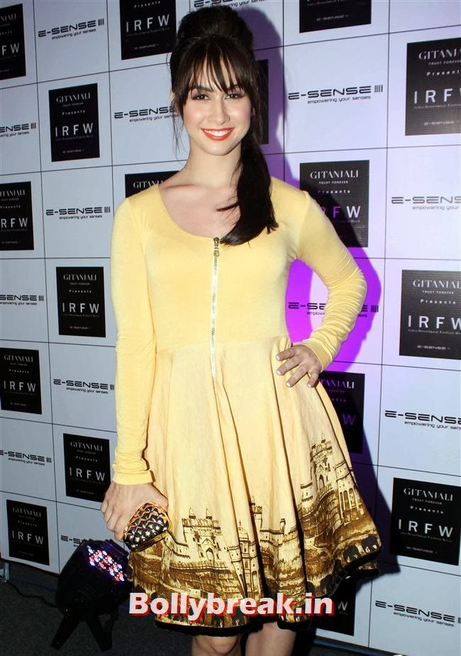 Lauren Gottlieb, Top Bollywood Celebs at India Resortwear Fashion Week 2013
