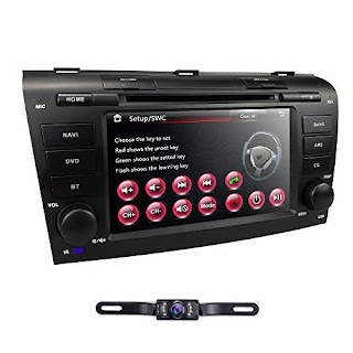 ✔ The best hizpo 7 inch Double Din in Dash HD Touch Screen Car DVD Player  GPS Navigation Stereo for