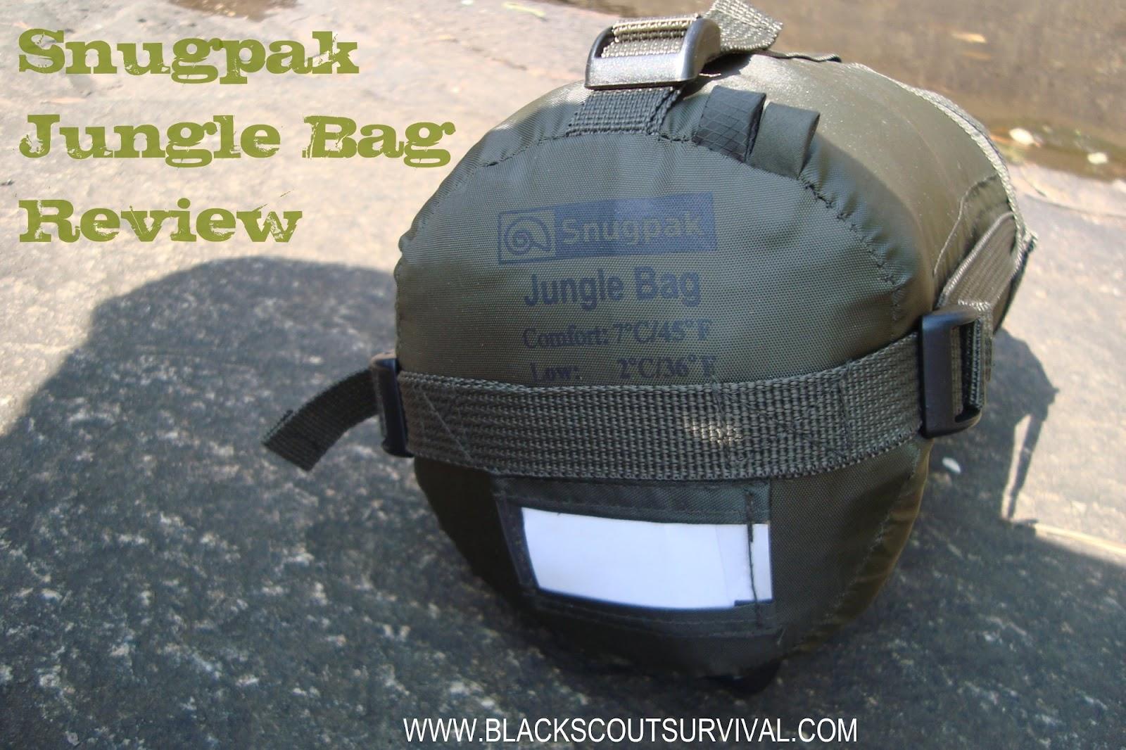Black Scout Survival Snugpak Jungle Bag Review