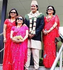 Rajesh Hamal Family Wife Son Daughter Father Mother Age Height Biography Profile Wedding Photos