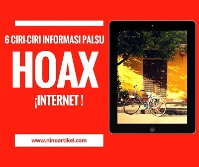 6 Ciri-ciri Informasi Palsu di Internet