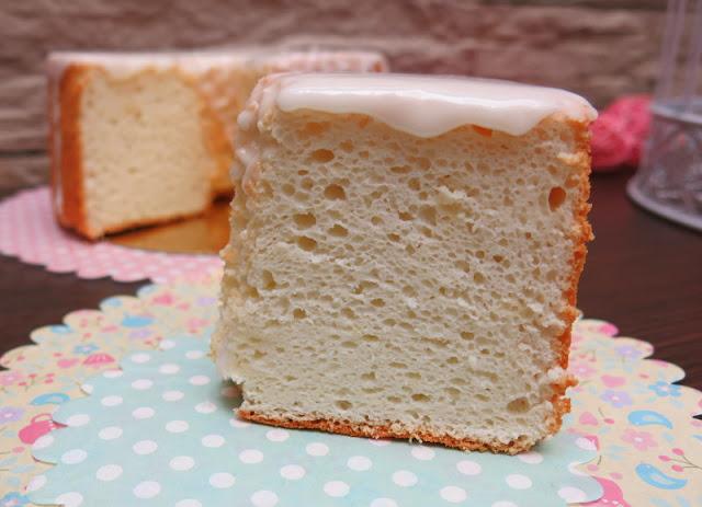ANGEL FOOD CAKE DE VAINILLA Y LIMÓN