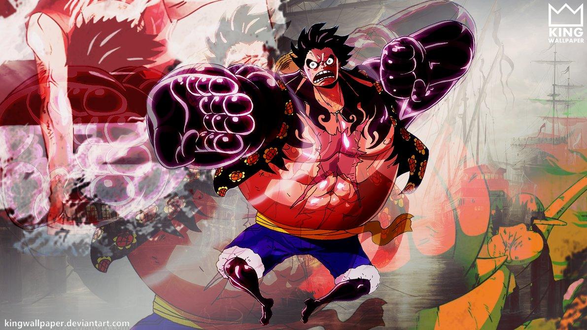 4 HD Wallpaper One Piece Monkey D Luffy Gear 4 Terbaru 2016 Blog