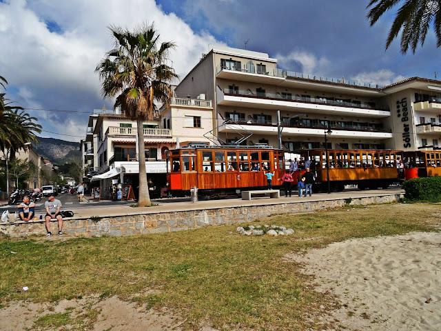 promenada Port de Soller, Majorka widoki, zdjecia