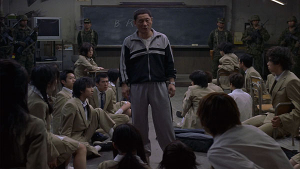 Takeshi Kitano in Battle Royale